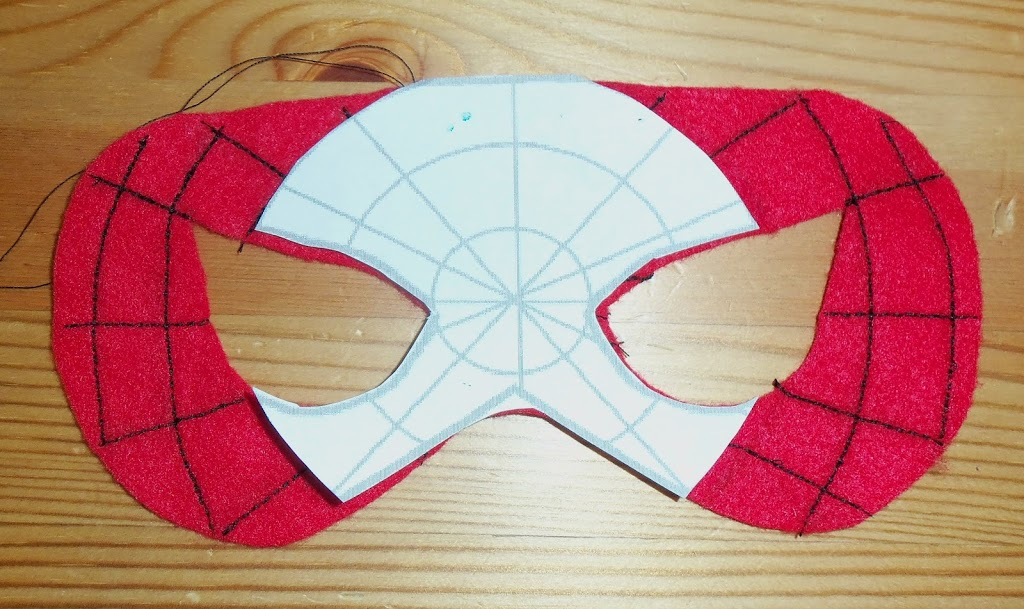 Felt Superhero Mask Templates - Cutesy Crafts