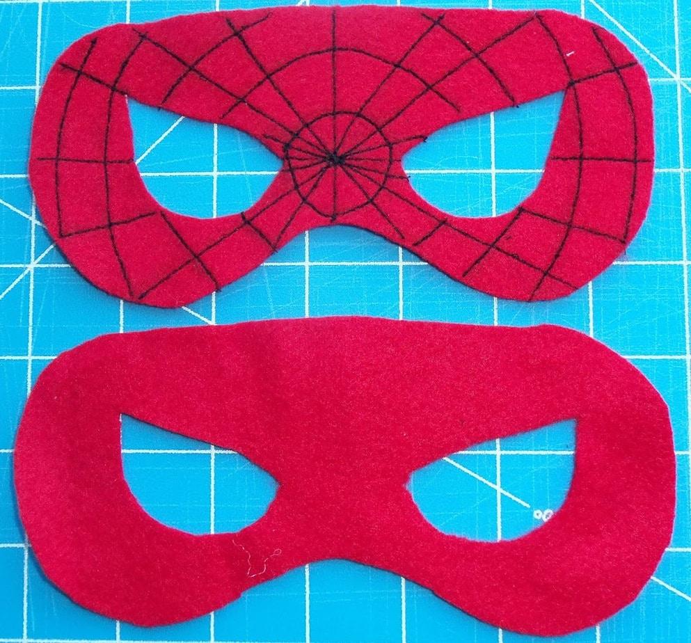 Как сделать своими руками маску человека паука