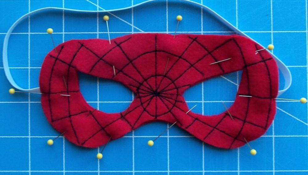 Superhero Mask Template