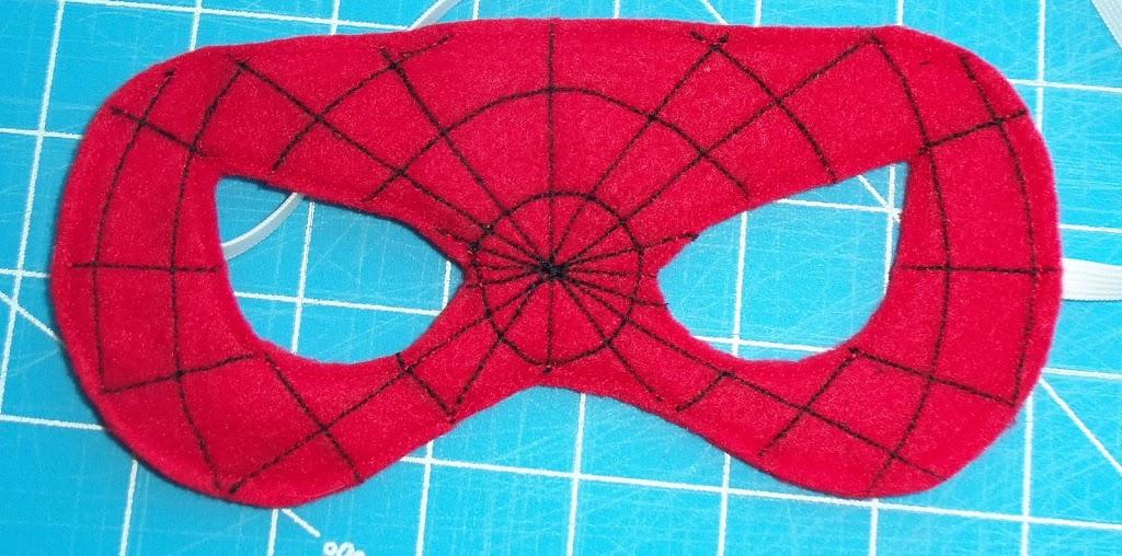 Felt superhero mask templates cutesy crafts felt superhero masks maxwellsz