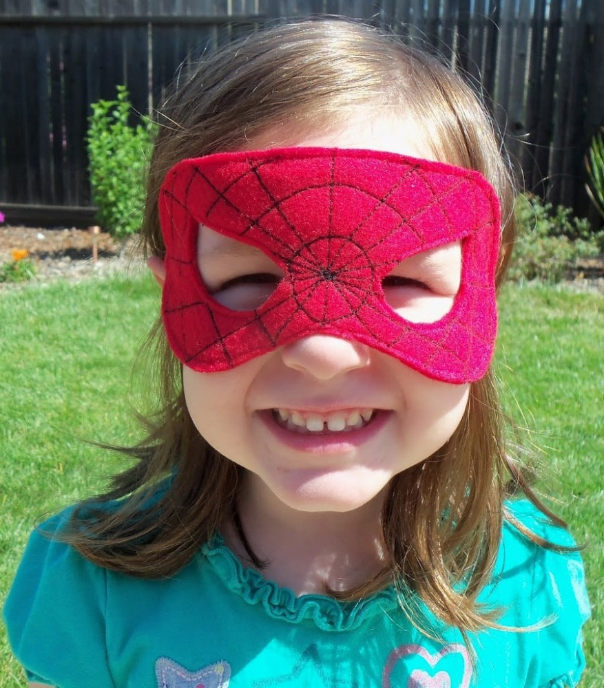 Superhero Masks for a Superhero Party