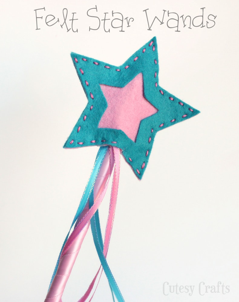http://www.cutesycrafts.com/2014/02/felt-star-wands.html