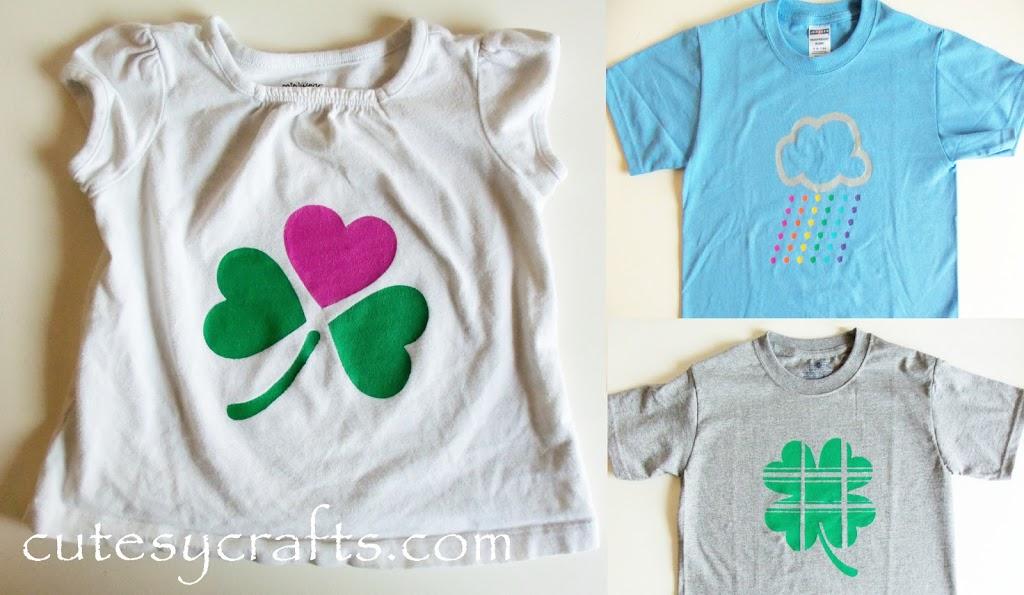 58c3b6832 DIY St. Patrick's Day Shirts - Cutesy Crafts