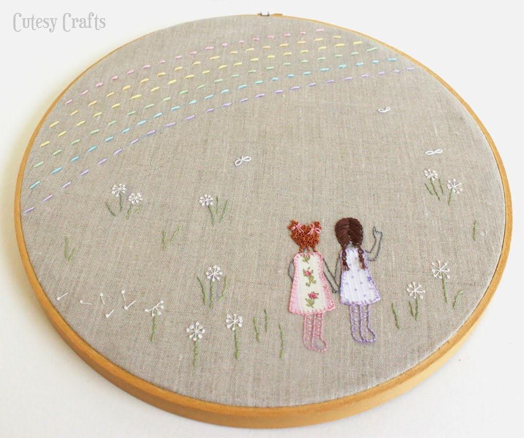 embroidery hoop pattern