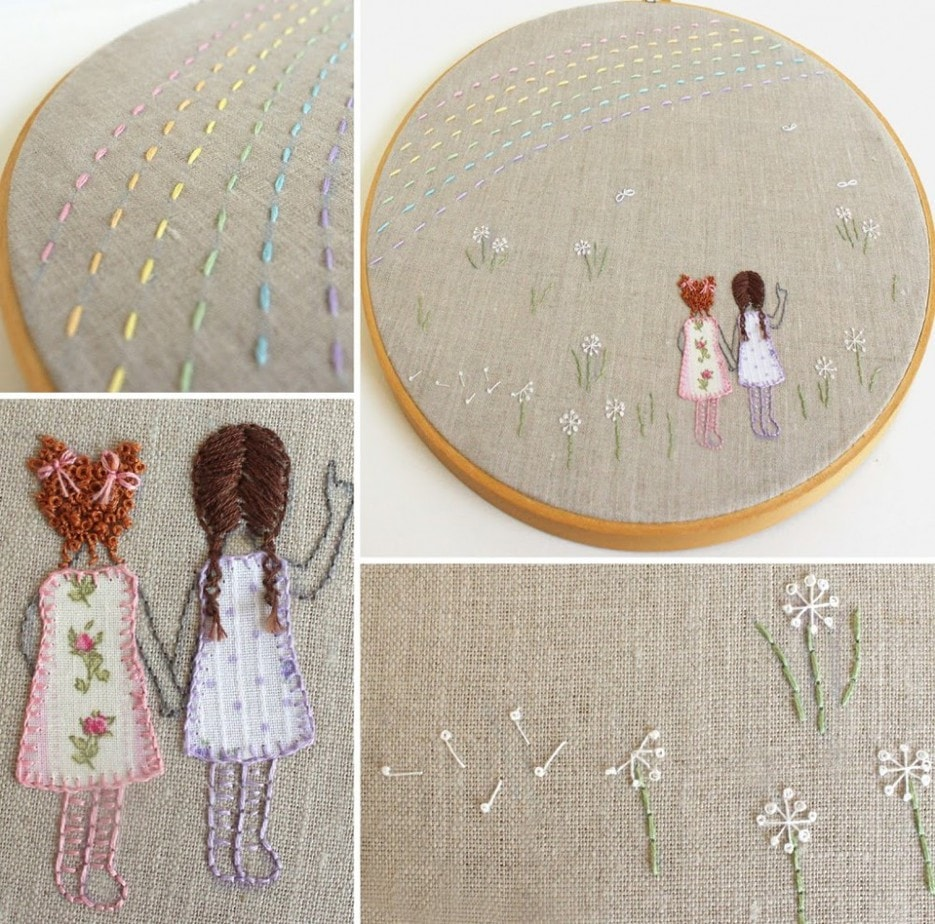 Stand Alone Embroidery Designs : Embroidery stitch guide