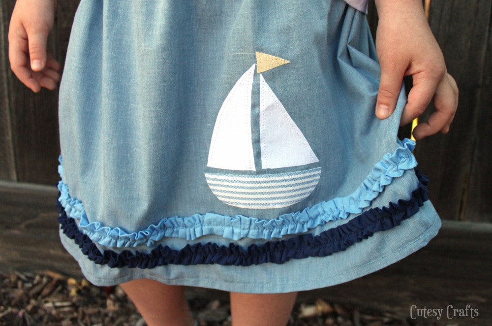 Sailboat Skirt