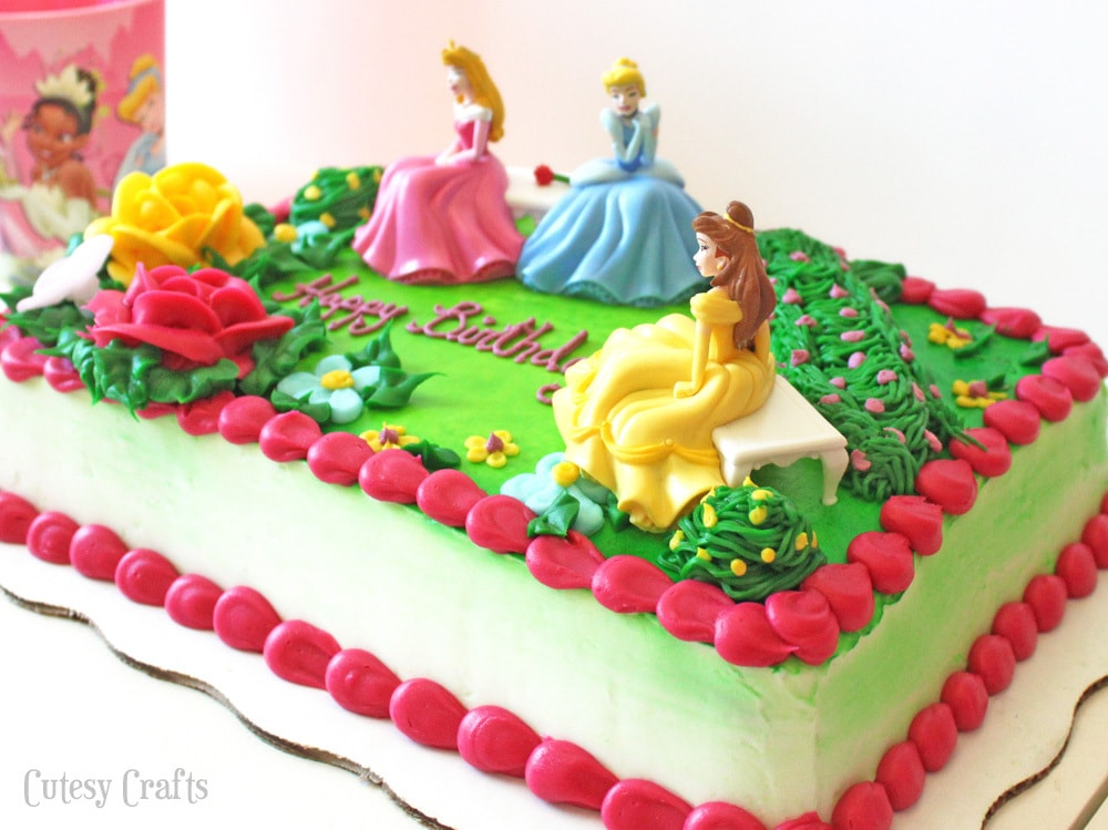 Walmart Bakery Princess Birthday Cakes