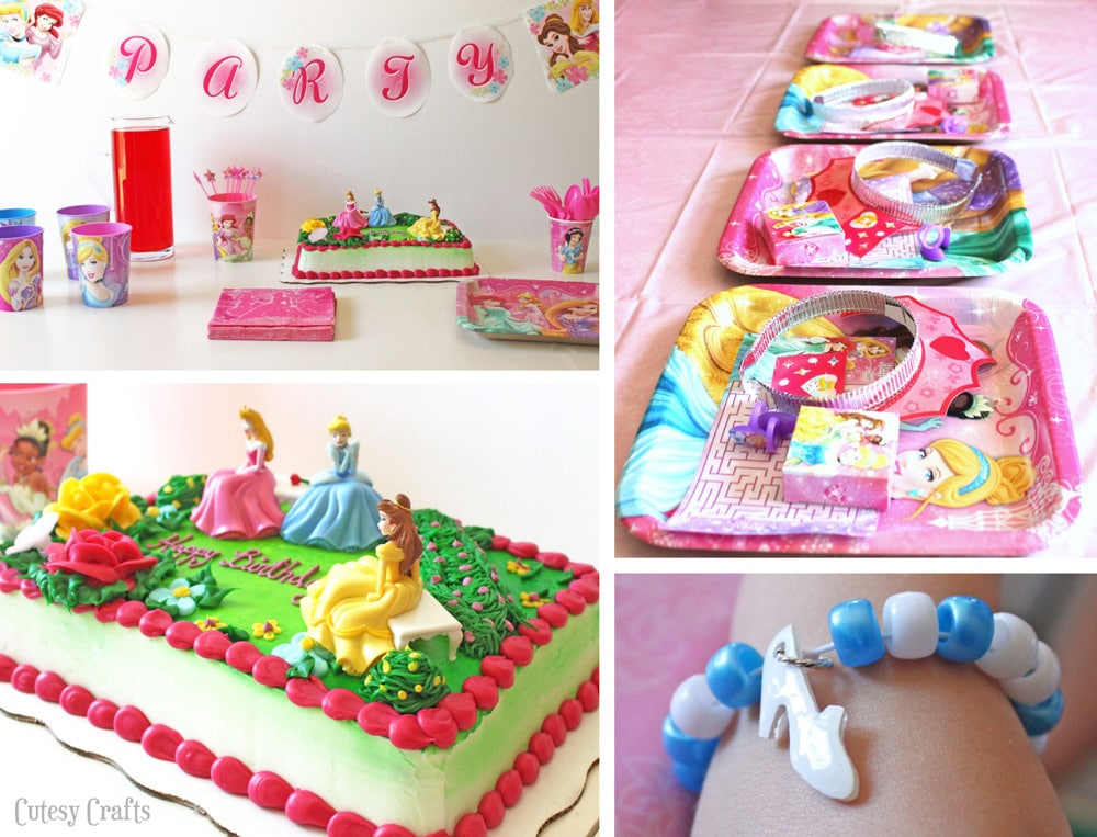 Disney Princess Birthday Celebration Cutesy Crafts
