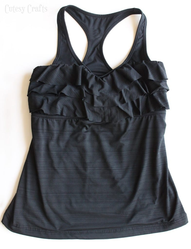 6fce500808071 Supportive DIY Swimsuit Fix with Sports Bra - Cutesy Crafts