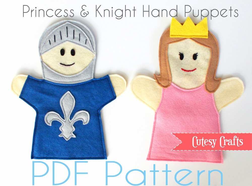 Felt Scenery And Puppet Patterns Cutesy Crafts Interesting Hand Puppet Pattern