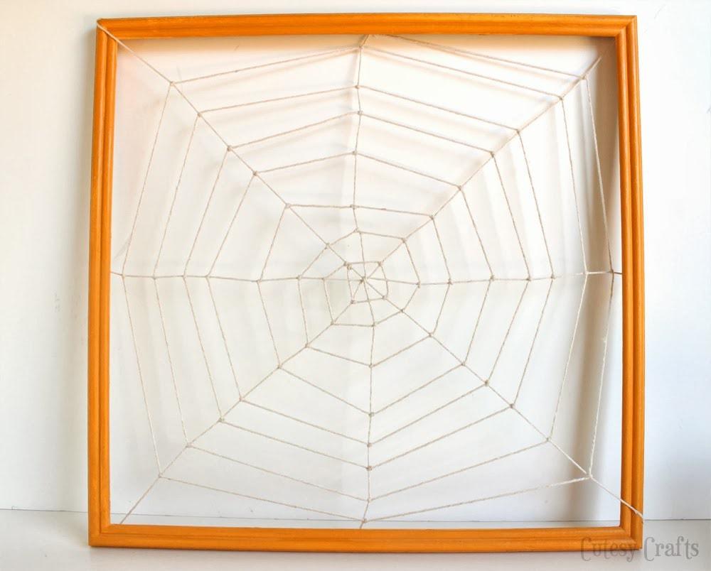 Spider Web Halloween Countdown