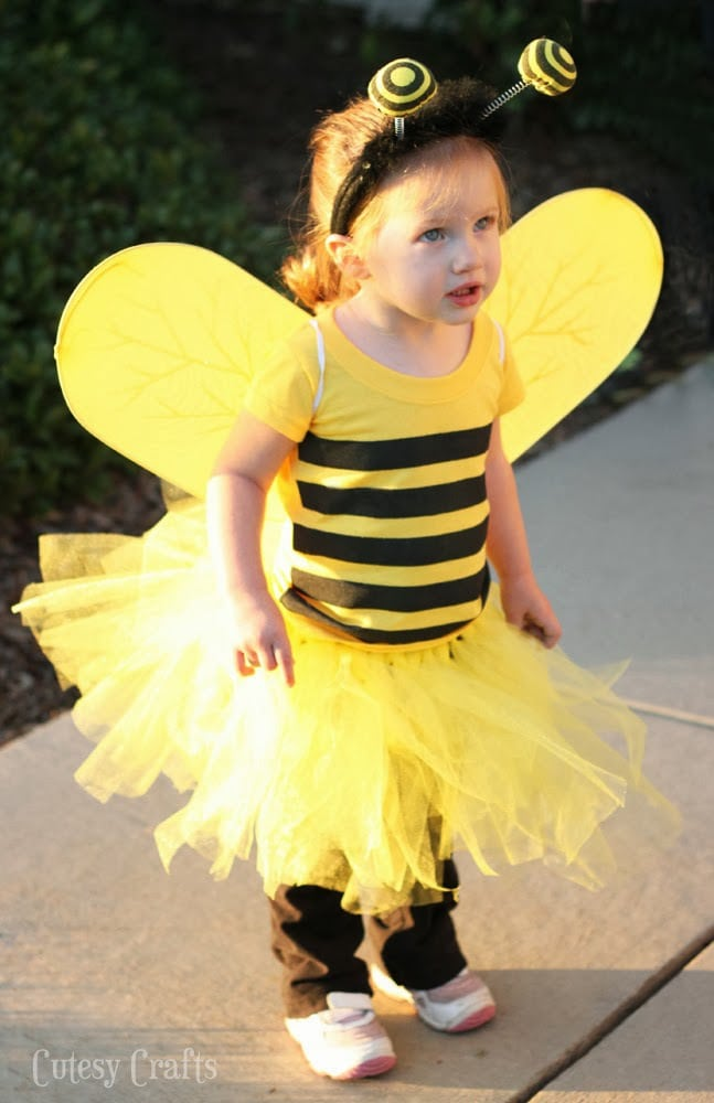 e740a04f80 DIY Bee Costume - Cutesy Crafts