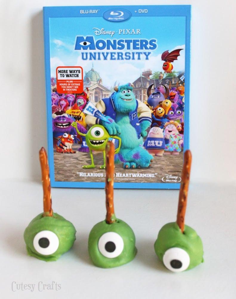 Monsters University Movie Night Treats
