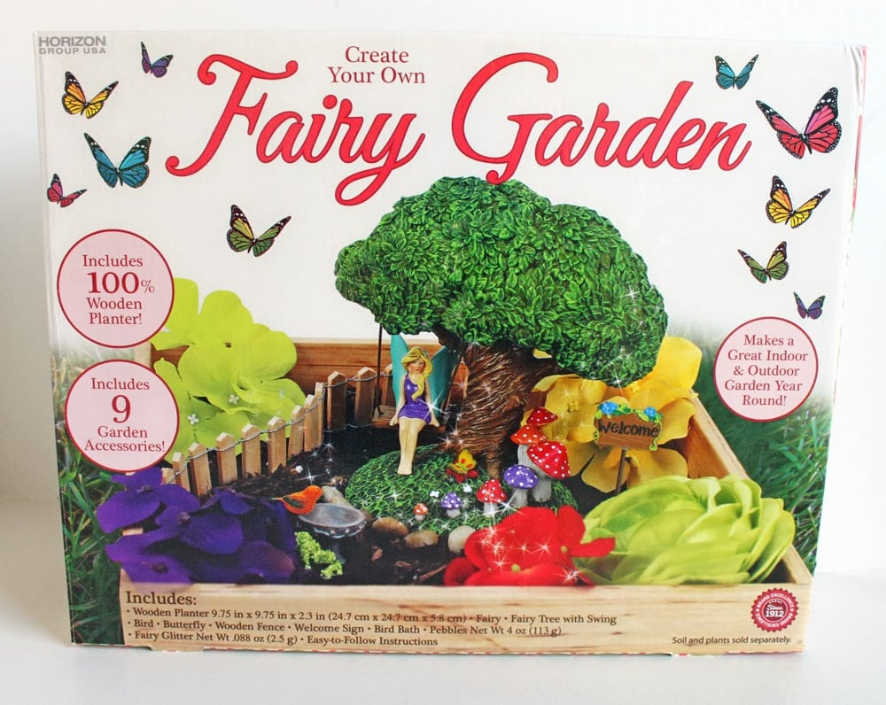 Diy fairy garden cutesy crafts for Gardening kit for toddlers