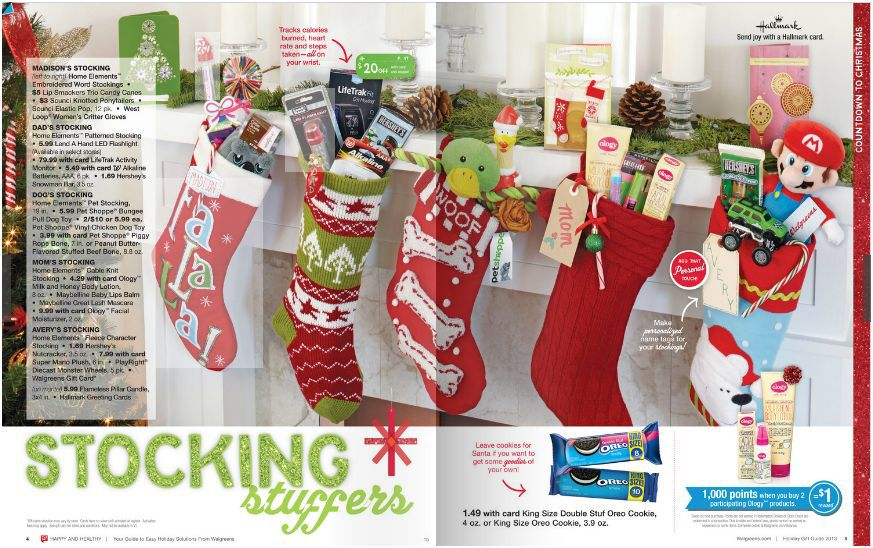 Stocking Stuffer Ideas from Walgreens Holiday Guide - Cutesy Crafts