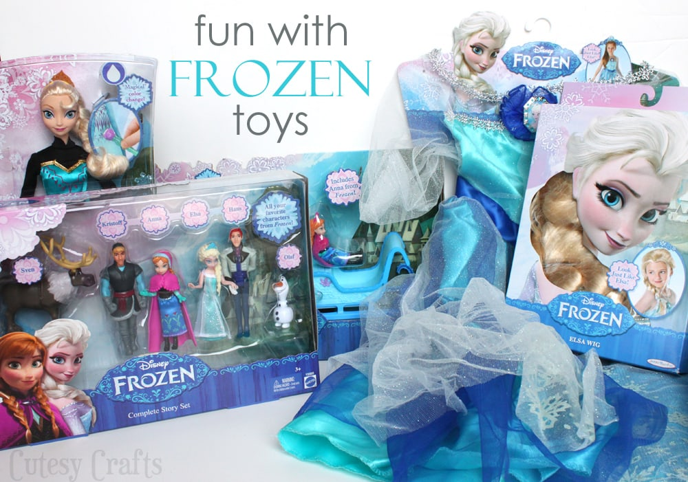 Fun with disney frozen toys cutesy crafts audrey voltagebd Images