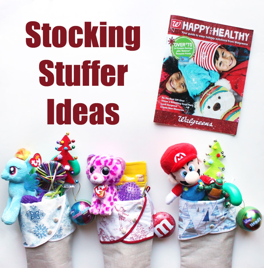 Stocking stuffer ideas from walgreens holiday guide for Stocking crafts for toddlers