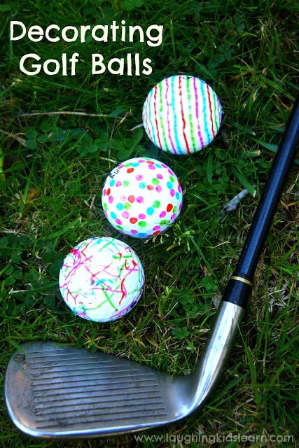 Decorating Golf Balls