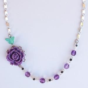 Asymmetrical Necklace with Martha Stewart Jewelry