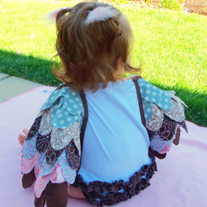 DIY Baby Owl Costume Tutorial