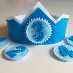 Boy Birthday Crown and a Giveaway!