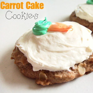 Kitchen Crafts – Carrot Cake Cookies