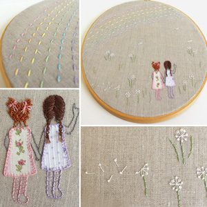 Free Embroidery Hoop Art Patterns