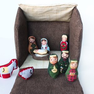 Fabric Nativity for Kids