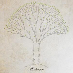 Family Tree Art Tutorial