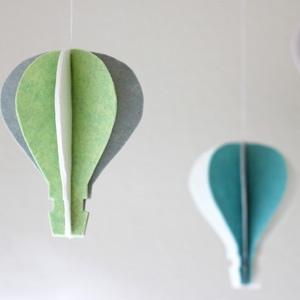Oz Inspired Felt Hot Air Balloon Craft