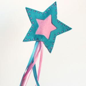 Felt Star Wands
