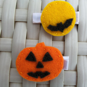 Halloween Hair Clips and Other News