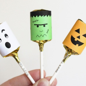 Halloween Lollypop Printables