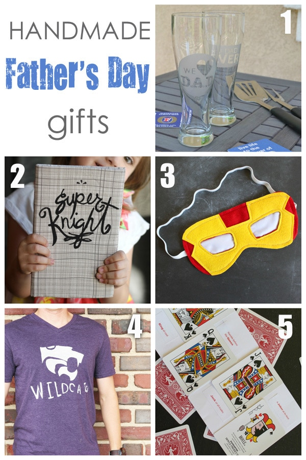 Handmade Father's Day gift ideas.