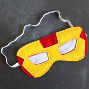 Superhero Sleep Masks and More Homemade Father's Day Gift Ideas