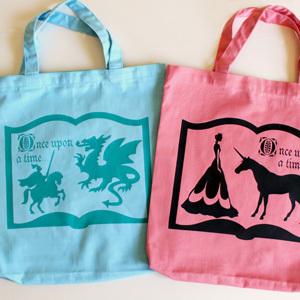 DIY Library Bags
