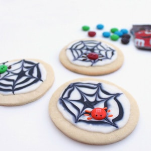 M&M's Spider Cookies and Halloween Floats