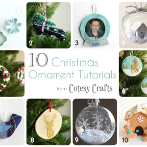 12 Days of Handmade Chrismtas Ornaments (day 12)