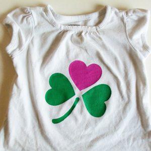 DIY St. Patrick's Day Shirts
