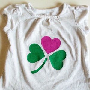 DIY St. Patrick's Day Shirts