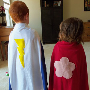 Easy Superhero Capes