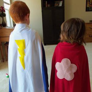 Easy Superhero Capes
