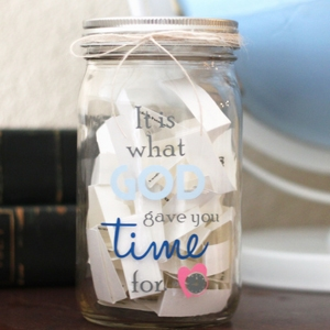 Quality Time Jar