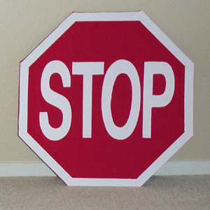 Traffic Sign Wall Hangings