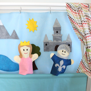 PVC Puppet Theater Tutorial