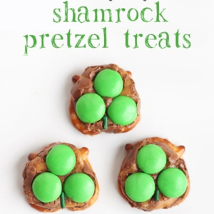 Milky Way Pretzel St. Patrick's Day Treats