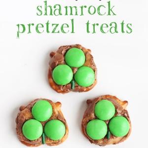 Milky Way Pretzel St. Patrick's Day Treats