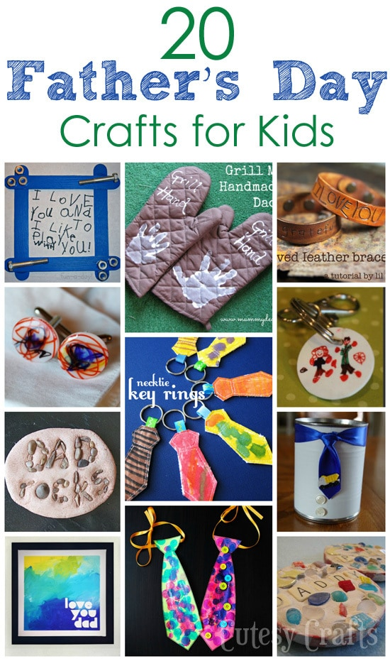 20 Father's Day Crafts for Kids to Make