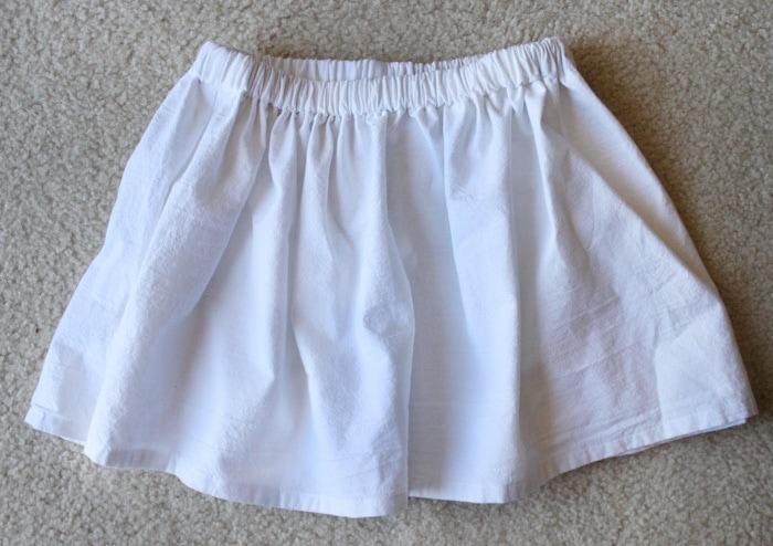 Make a skirt out of a tea towel!