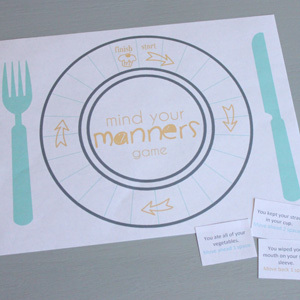 Tools for Surviving Restaurants and Teaching Table Manners to Kids